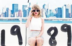 Taylor Swift Wallpaper 1989 City Background Photoshoot