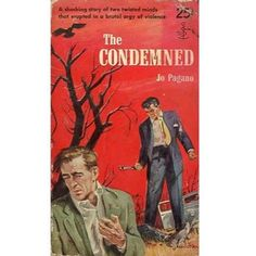 The Condemned, 1954, vintage paperback #BOOK