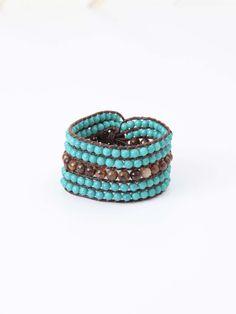 Altar'd State Boho Beaded Wrap Bracelet
