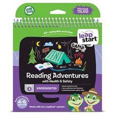 LeapFrog LeapStart Kindergarten Activity Book: Reading Adventures and Health