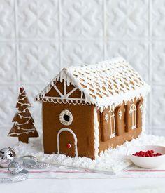 Gingerbread house recipe | Christmas baking recipe | Gourmet Traveller recipe - Gourmet Traveller