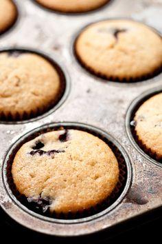 Blueberry & Almond Cupcake