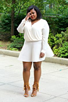 sandee joseph, plus size fashion blogger