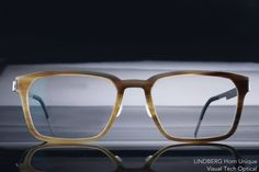 LINDBERG 牛角鏡框 Horn Unique Titanium  @ 必久戴眼鏡 Visual Tech Optical
