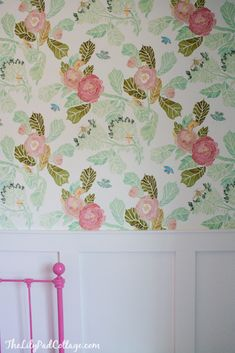Hung up on hanging wallpaper... - The Lilypad Cottage