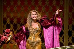 """Renee Fleming in the 2009 Met Opera production of Massenet's """"Thais."""" Costumes designed by Christian Lacroix. DEAR GOD I WAS JEALOUS."""