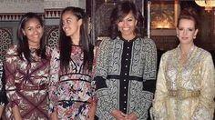 El estilismo de la Primera Dama de EE.UU. en su visita a Marruecos