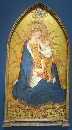 Giovanni di Paolo - Madonna Branchini - 1427 - Norton Simon Museum