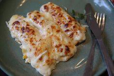 Destemperados - Canelone de queijo com milho para o almoço de família