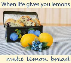 Cooking is like therapy for those rough days. Try this gluten-free lemon loaf recipe.