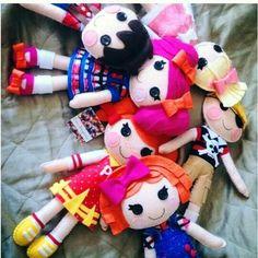 Muñecas lalaloopsy de fieltro