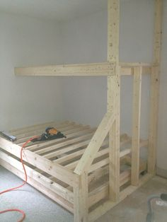 Framed Built in Bunk Beds https://www.facebook.com/carolinacustomizedinteriors?ref=br_tf
