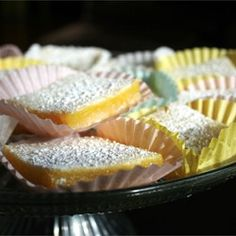 """Bake Sale Lemon Bars 
