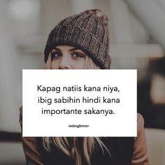 Tagalog Love Quotes - May Nagugustuhan ka ba ngayon? Love Quotes For Her, Love Quotes Funny, Love Life Quotes, Hurt Quotes, Filipino Quotes, Pinoy Quotes, Tagalog Love Quotes, Filipino Funny, Inspirational Artwork