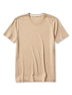 Soft-Wash Tee In Oatmeal Heather or Thermal Teal