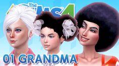 Los Sims 4 / 01 GRANDMA / TOUR HOUSE + GAMEPLAY ♥tesasims♥