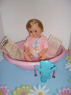 tubsy doll   Ideal- Canada - 1967-68- Tubsy Doll -Original Box, Paperwork, Clothing ...