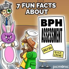 With these memorable characters and fun story, you'll never forget these 7 facts about BPH assessment again! Subscribe to our YouTube Channel to see new videos like this weekly. #rnstudent #lpnstudent #nursesofinstagram #studytips #bph #studyresources