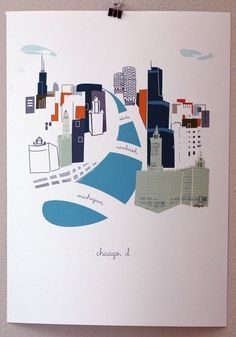 Chicago (i like the design and it also is making me excited for a upcoming trip!)