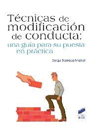 Ilustración de eufepru para la portada del libro Técnicas de modificación de conducta.