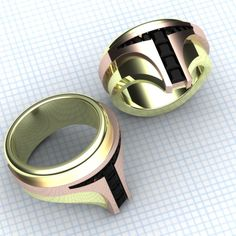 Cool Stuff We Like Here @ CoolPile.com ------- << Original Comment >> ------- Boba Fett Rings