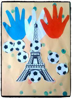 allez la france, football, activité enfant                              …