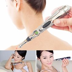 Acupuncture Health Pen Meridian Body Massager Pain Relief Therapy Electronic Hot Selling