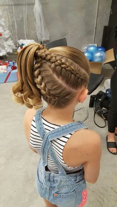 44 Sweet Daughter Hairstyles Ideas to Copy Now 44 Sweet Daughter Hairstyles Ideas to Copy Now The post 44 Sweet Daughter Hairstyles Ideas to Copy Now appeared first on Nagel Art. Cute Braided Hairstyles, Dance Hairstyles, Trendy Hairstyles, Gymnastics Hairstyles, Wedding Hairstyles, Braided Ponytail, Everyday Hairstyles, Hair For Gymnastics, Volleyball Hair