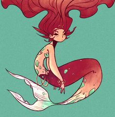 mermaid by catshake on DeviantArt