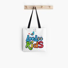 'Loo Loo Kids' Tote Bag by StefaniaAlina Large Bags, Small Bags, Cotton Tote Bags, Reusable Tote Bags, Kids Tote Bag, Baby Songs, Medium Bags, Are You The One, Art Prints