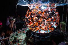 Goldfish art in Nihombashi, Tokyo | Flickr - Photo Sharing!