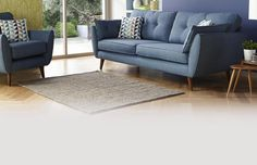View our full range of DFS fabric sofas in a huge variety of styles & colours. Get 4 years' interest free credit with no deposit when you shop online now Dfs Sofa, 2 Seater Sofa, Chesterfield Sofa, Sofa Set Designs, Sofa Design, Interior Design, Living Room Update, New Living Room, Fabric Sofa