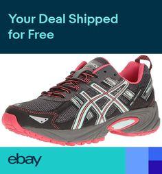 best sneakers cfe40 b0483 ASICS Womens GEL-Venture 5 Running Shoes Comfort Walking Casual Training Gym