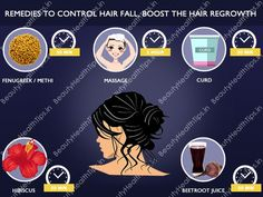 Home remedies to control hair fall, boost the hair regrowth