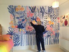 Girls bedroom mural Interior Design More - #consejossaludables #salud #consejossalud #consejosdesalud #saludables #dieta