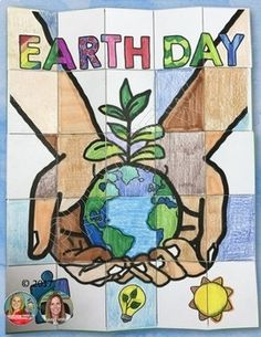 Earth Day Activity, Close Reads Unit, Collaborative Poster, Writing Activity - Welcome to our website, We hope you are satisfied with the content we offer. Planets Activities, Earth Day Activities, Writing Activities, World Environment Day Posters, Earth Day Posters, Earth Poster, Environment Drawing Ideas, Importance Of Earth Day, Earth Day Drawing