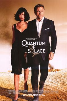 Quantum of Solace Huge Movie Posters & Banners (James Bond; Daniel Craig, Olga Kurylenko)