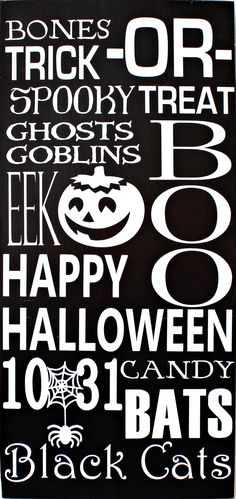 halloween subway art vinyl sign pazzles craft room project with wpc svg cutting files