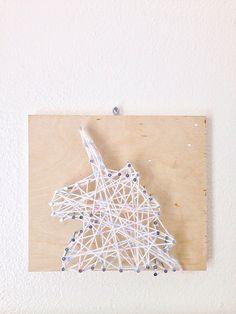 We Made It: DIY String Art by Maker Mama