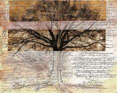 artjournaling: Trees (by Jane Farr)