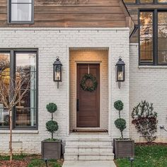 Welcome home #sold #nashvillerealestate. Love this dramatic, stylish entry to our 3818 Hilldale listing.