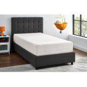 """Mainstays 10"""" Memory Foam Mattress CertiPUR-US certified foam, Multiple Sizes"""