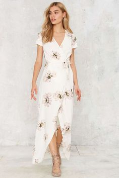 Maureen Maxi Wrap Dress | Shop Clothes at Nasty Gal!