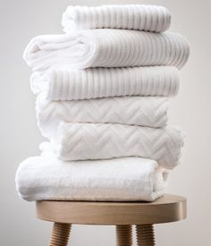 Shower towel in cotton terry #HMHome