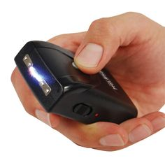 Stun Master Hot Shot Stun Gun One of the main tactical advantages of the Hot Shot Stun Gun is that it does not look like a stun device. No one will ever notice it, because it looks almost like a Blackberry, or other handheld mobile device... maybe even a garage door opener! With a dazzling 4.5 million volts, the Hot Shot stun gun has the power of a punch to the gut, combined with the element of surprise.
