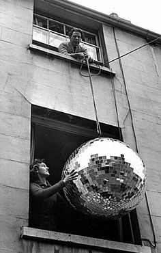 Disco ball. Life is a Party