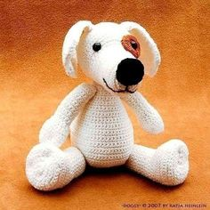 dog Doggy crochet PDF Pattern amigurumi by designshop on Etsy, $5.95