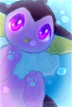 Pokemon art Shiny Vaporeon by Princess-Nyxi on DeviantArt Shiny Vaporeon, Pokemon Eevee Evolutions, Catch Em All, Cute Pokemon, Fun Games, Cute Animals, Deviantart, Fish, Princess
