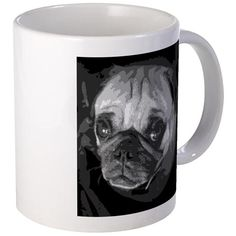 Spanky the Pug Mugs