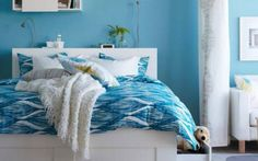 Aqua Blue Bedroom Ideas for Teen Girls - http://ther.bullpenbrian.com/aqua-blue-bedroom-ideas-for-teen-girls/ : #Bathroom Who said that in decorating a room for girl cannot use the blue? The blue color and its various shades like aqua blue bedroom ideas is perfect for decorating a bedroom modern, fresh and elegant way. For the decoration of a room we can use the classic colors like white, black … what are...